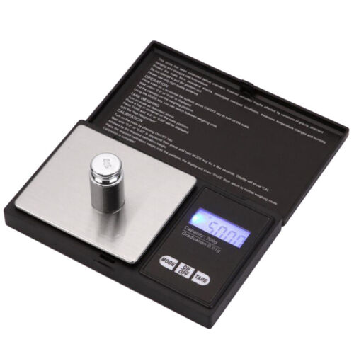 Small Mini Pocket Digital electronic weighing weight scale 0.01 g to 500 Gram~