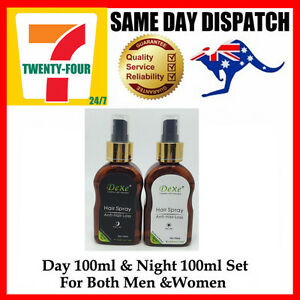 Day + Night Fast Growth Anti Hair Loss Spray Help Hair Regrowth Herbal Treatment