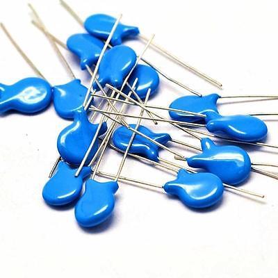 Us Stock 20pcs High Voltage Ceramic Disc Capacitors 220pf 0.22nf 221 1000v 1kv