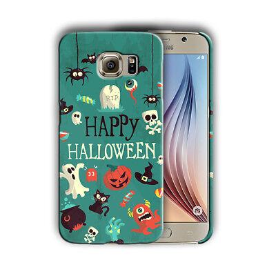 Happy Halloween Samsung Galaxy S4 5 6 7 8 9 10 E Edge Note 3 - 9 Plus Case n18