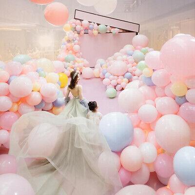 36'' Jumbo Macaron Latex Balloons Baby Shower Girl Birthday Wedding Party - Baby Girl Balloons