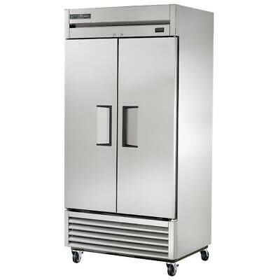 True T-35f-hc 40 Two Section Reach-in Freezer 2 Solid Doors 115v