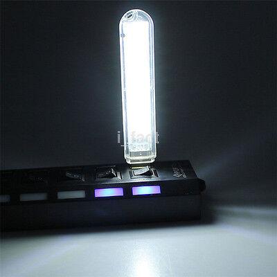1PC Mini Portable Bright 8 LED Night Light USB Lamp For PC Laptop Reading SMD 5V