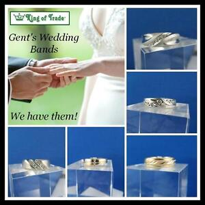 Men's Wedding Bands at King of Trade! (NEW Location)