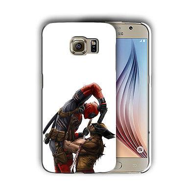 Super Hero Deadpool Samsung Galaxy S4 5 6 7 8 9 10 E Edge Note Plus Case n6