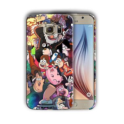 Gravity Falls Samsung Galaxy S4 5 6 S7 S8 Edge Note 3 4 5 8 9 Plus Case Cover 06