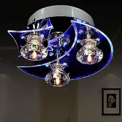 Crystal LED Ceiling Light Pendant Flush Lamp Fixture Lighting Chandelier Hottest