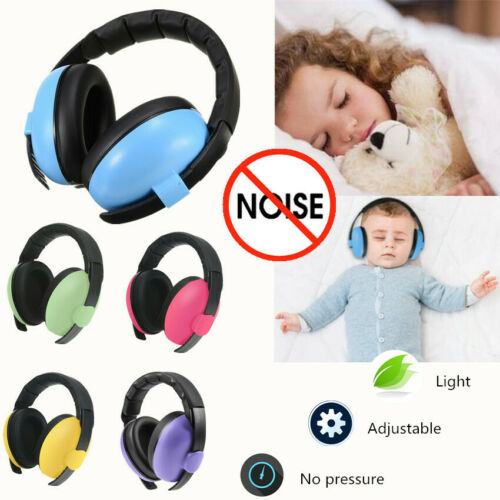 Child Baby Ear Muff Hearing Protection Kids Safety Noise Can