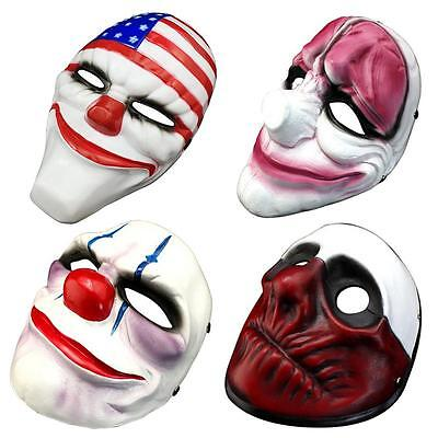 Game Payday 2 Chains Dallas Wolf Hoxton Costume Dress Props Cosplay Party Mask - Dallas Halloween Party