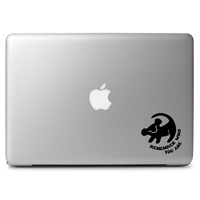 """Lion King Remember for Apple Macbook Air/Pro 11 13 15 17"""" Vinyl Decal Sticker"""