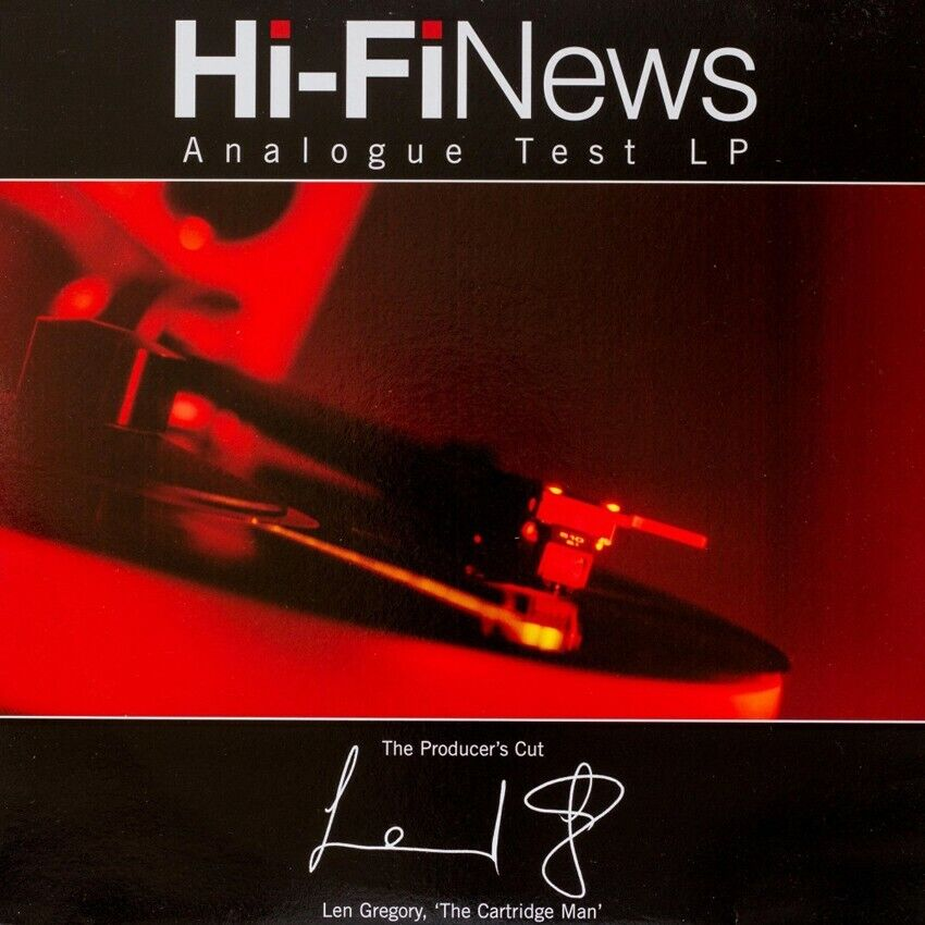 Hi-Fi News Test LP - The Producers Cut - 180g LP + Frequency Sweep Pink Noise