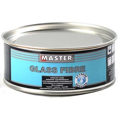 Glasfaserspachtel 1Kg Spachtelmasse Fiberglas 0,5L Spachtel GFK Faserspachtel