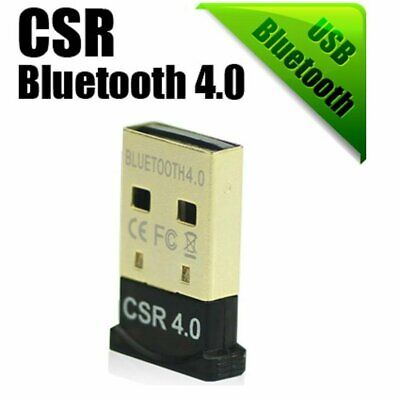 USB 2.0 Mini Bluetooth 4.0 CSR4.0 Adapter Dongle for PC LAPTOP WIN XP VISTA 7 8 Computers/Tablets & Networking
