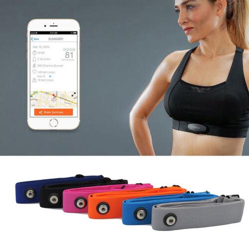 Soft Heart Rate Monitor Sensor Strap Chest belt for Polar Wahoo GARMIN 35-50 Hot