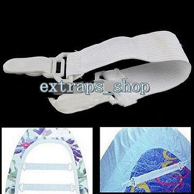 4pcs/Set Fitted Bed Sheet Grip Mattress Gripper Clip Fastener Elastic strap -