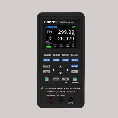 Lcr Meter Lcrzxdqesr 100-100khz 2.8 Tftlcd Li-battery Usb Pc Software