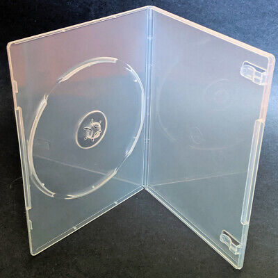 20 New Aceplus Single Slim Super Clear Dvd Video Storage Movie Plastic Cases 7mm