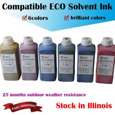 Calca Compatible Mimaki Eco Solvent Ink For Roland Mimaki 6colorspack