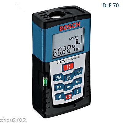1pcs Bosch Dle70 Laser Distance Meter Tester Range Finder Measure 70m Range New
