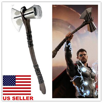 US!2018 Avengers Infinity War Thor Stormbreaker Axe Cosplay Prop Handmade Weapon