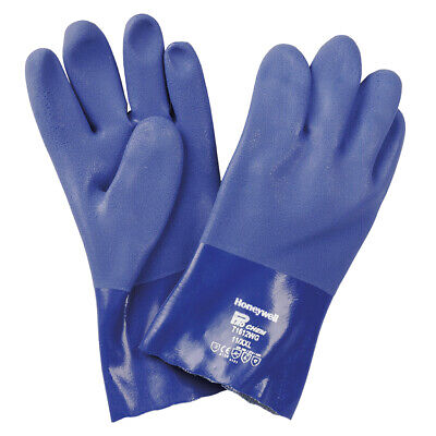 10 Pairs - Heavy Duty Pvc Gloves - North By Honeywell Pro-chem Size Large