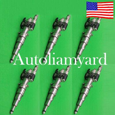 6pcs OEM Fuel Injector 13537585261 INDEX 12 For BMW N54 135 335 535 550 750 650i
