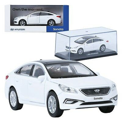 Pino B&D HYUNDAI LF Sonata White 1:38 Display Mini Car Miniature Car