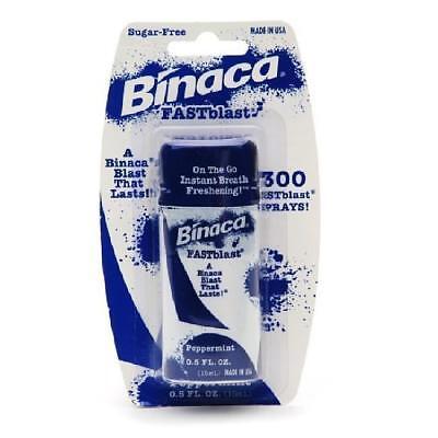 Binaca Fast Blast Breath Spray - Binaca Fast Blast Breath Spray - Peppermint