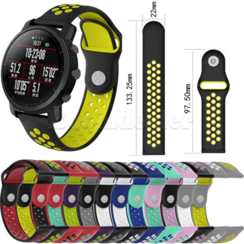 Replacement Silicone Wrist Bracelet Sport Band Strap For Xiaomi HuaMi Amazfit 2