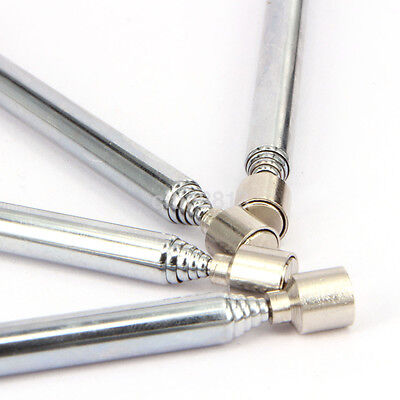 1pc Portable Telescopic Magnetic Pick Up Rod Stick Extending Magnet Picker US