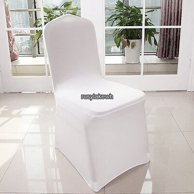 300PCS Polyester Chair Covers for Banquet Wedding Reception Party Decor US Ship