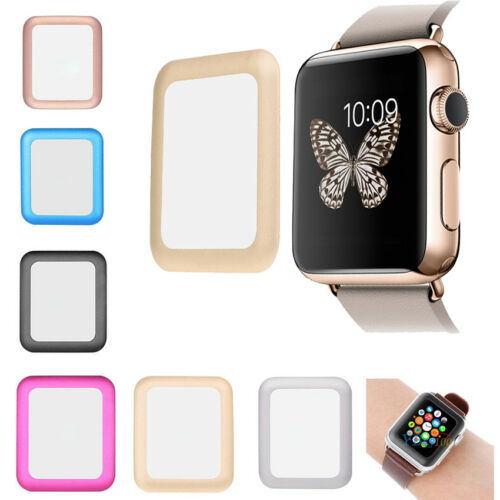 Original Full Tempered Glass Screen Protector For iPhone Watch iWatch 38mm&42mm
