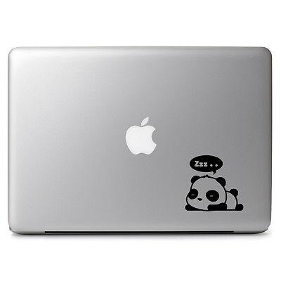 Cute Sleeping Panda Vinyl Decal Sticker for Macbook Air Pro 11 12 13 15 Laptop