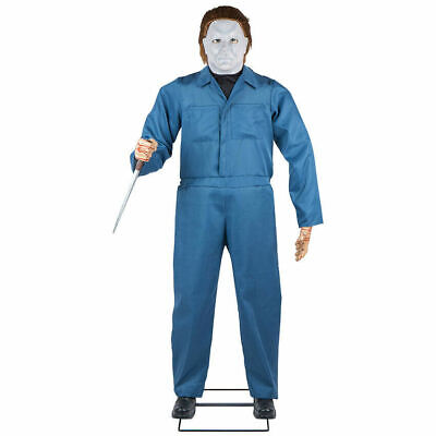 PRE-ORDER*** HALLOWEEN LIFE SIZE MICHAEL MYERS H2 ANIMATED PROP 6 FT -GEMMY