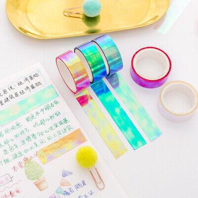 Washi Tape Wholesale (Wholesale Rainbow Laser Washi Tape Decorative Adhesive Tapes Masking Tape)