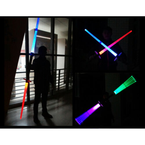 2018 Light Growing Sword Star Wars Double Light Sabers Toy S