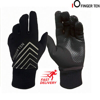 (Mens Winter Gloves Thermal Insulated Cycling Hiking Driving Work 3M Waterproof )