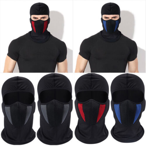 Outdoor CS Motorcycle Cotton Balaclava Neck Warmer Ski Full Face Mask Cover Hat