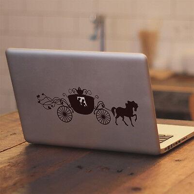 Disney Cinderella Carriage for Macbook Air/Pro Laptop Car Vinyl Decal Sticker