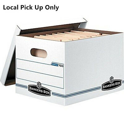 Bankers Box Storfile Letterlegal Size 15 X 12 X 10 Storage Boxes -10pk 703