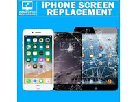 iPhone 7 6 6s 5 5s 4s Plus iPad Crack Broken Screen Fix Service Lcd Repair Express 30 Minutes