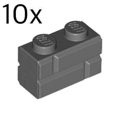 LEGO NEW 1x2 Medium Dark Flesh Brick Log 4651231 Brick 30136 10x