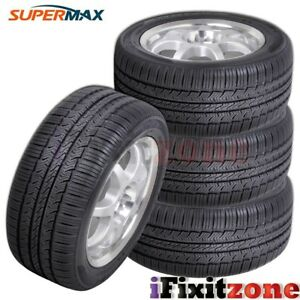 4 New Supermax TM-1 195/65R15 91T Performance Tires
