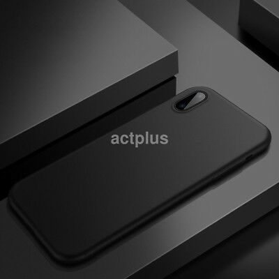 For iPhone X Ultra Thin Slim PP Matte Silicone Case Luxury Protective Back Cover