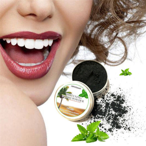 15g Coconut Bamboo Charcoal Black Whitening Toothpaste Whitener Tooth Paste HOT