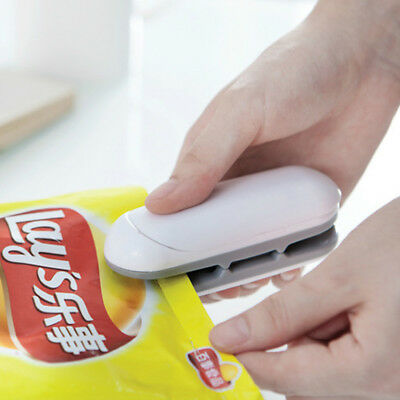 Chip Bag Resealer Portable Mini Package Air Tight Re Sealer Snack Seal Heat1pc