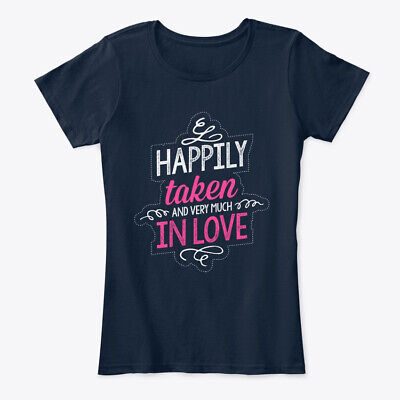 Best Gift For Wife On Her Marriage Anniv Women's Premium Tee (Best Shirts For Marriage)