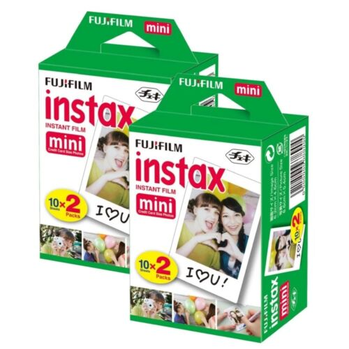 Fujifilm Instax Mini Instant Film 40 Sheets Of Film