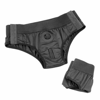 Unisex FTM Boxer Packing Briefs O-Ring Strap-On Packer Harness Underwear Panties