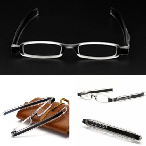Slim 360 Degree Folding Reading Glasses Reader Spectacles Eyeglass +1.0~+4.0
